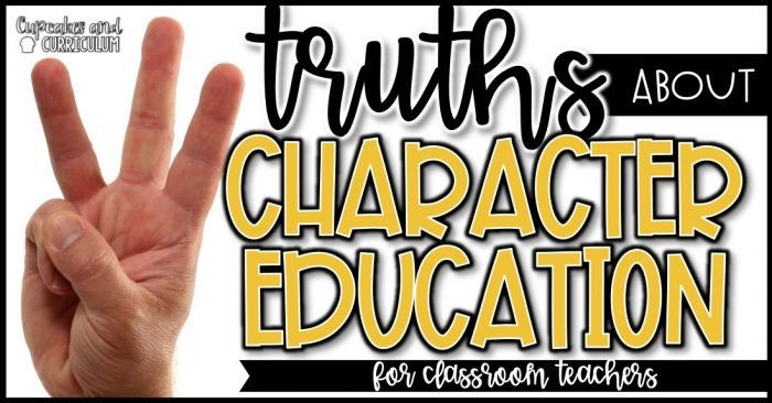 3 Truths About Character Education