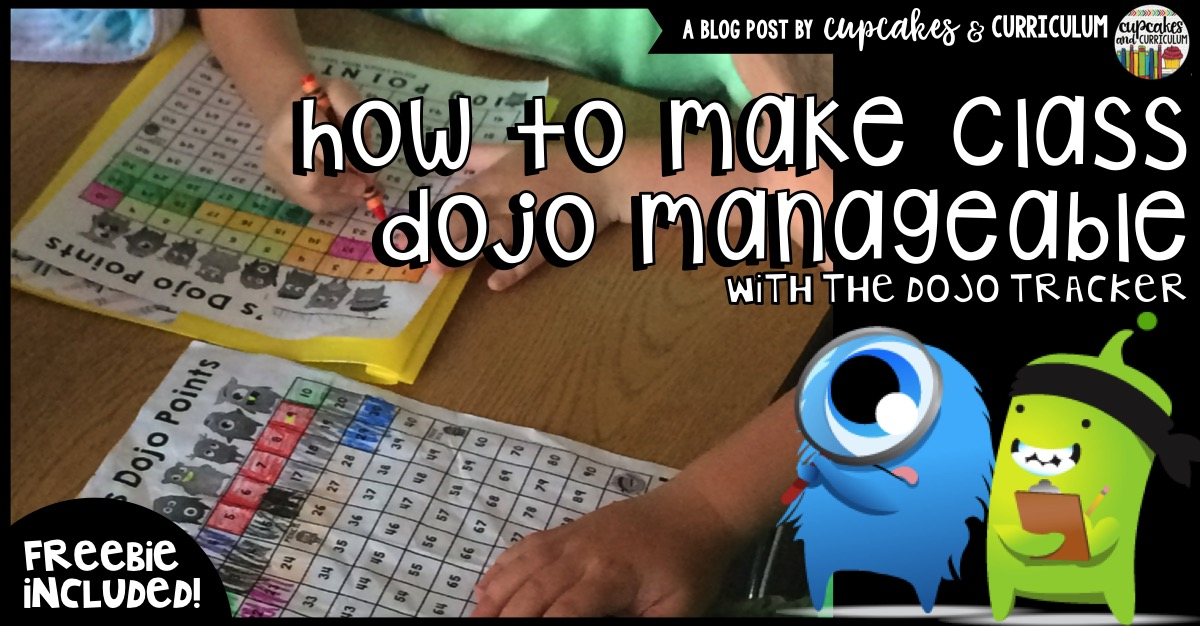 Classroom Decor Bundles ~ Making class dojo manageable the tracker