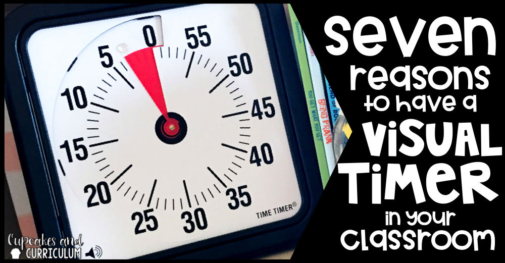 Classroom Library Decor ~ Seven reasons to have a visual timer in your classroom