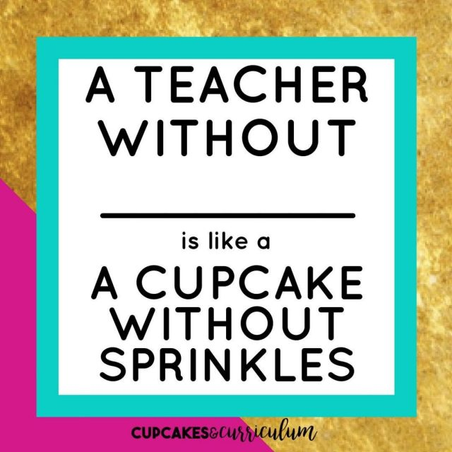 Fill in the blank! My answer isss COFFEEEE!!!  cupcakesncurriculumhellip